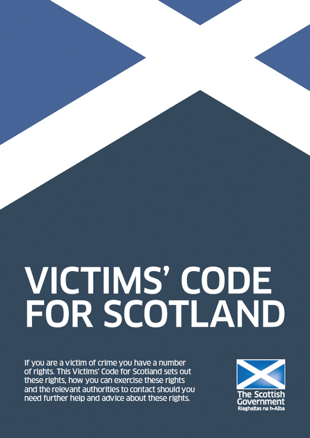 Victim Code for Scotland - Cover image